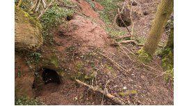 Encuentran una cueva de los Caballeros Templarios que tiene 700 años