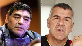 Maradona, duro contra Dady