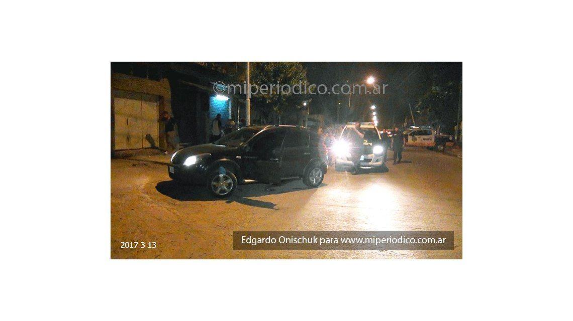 Policía baleado en José León Suárez