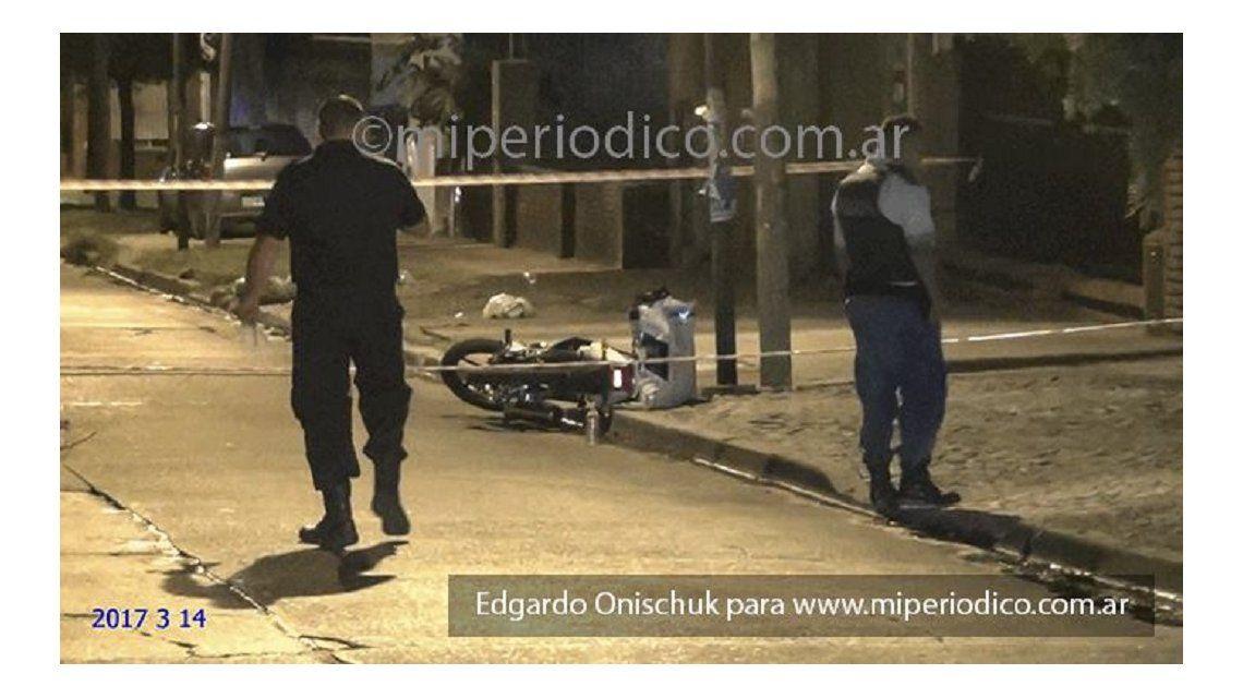 Motochorros mataron de un tiro en la cabeza a un policía de San Martín