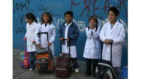 Finalmente, los chicos bonaerenses vuelven a las aulas