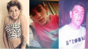 Rocío Seijas, Joaquín Luengo y Daniel Almada