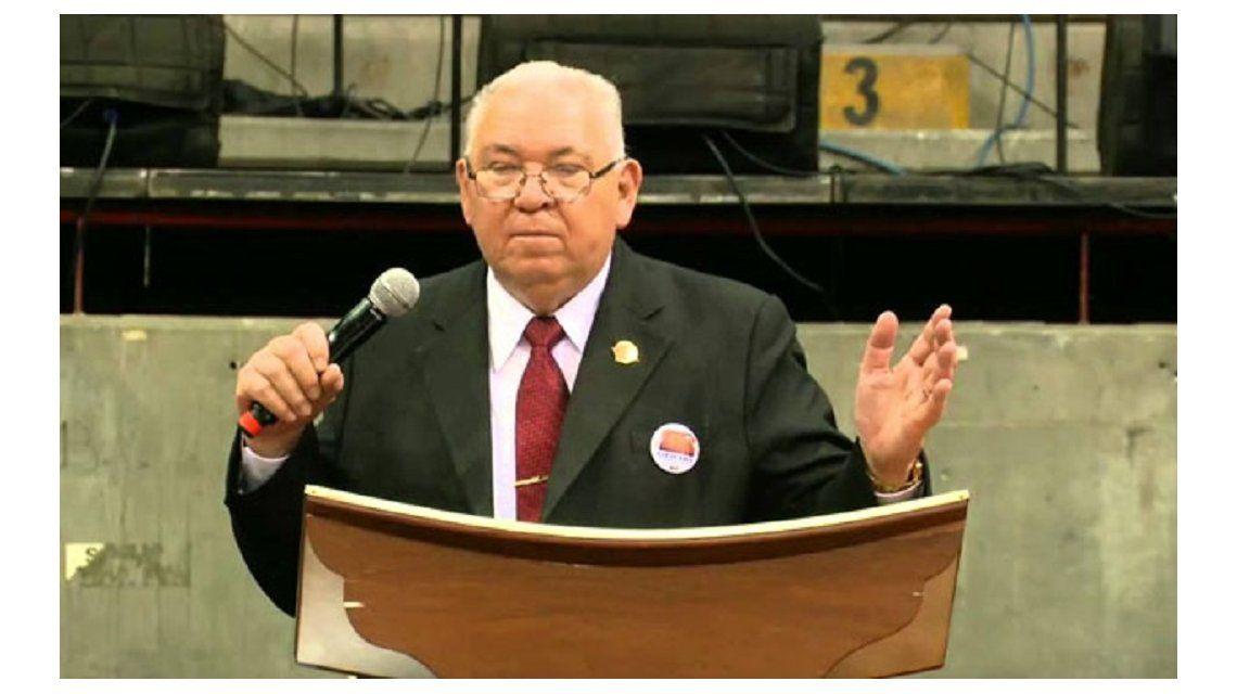Pastor peruano Rodolfo González Cruz