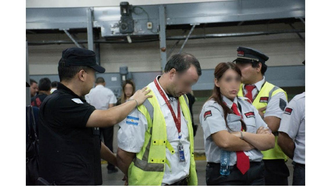 Los detenidos pertenecían a una empresa de seguridad privada