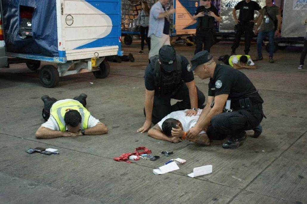 La policía se incautó de armas