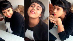 Una youtuber imita a famosas cantantes