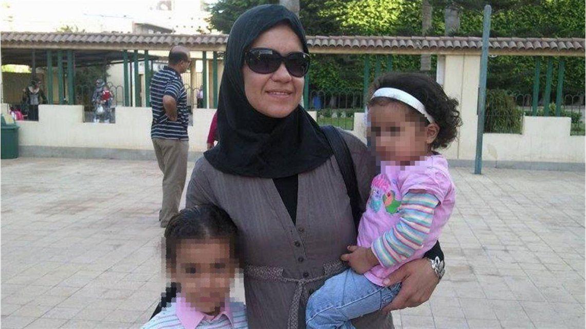 Regresó al país la argentina retenida en Egipto