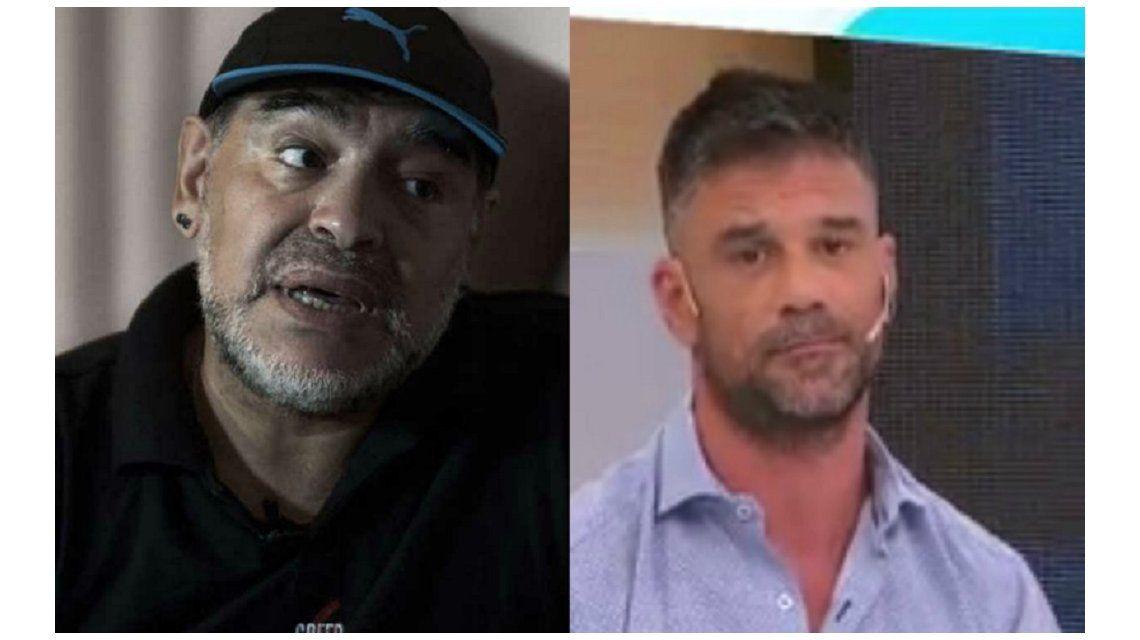Diego Maradona estalló contra un periodista: Sos muy bol...