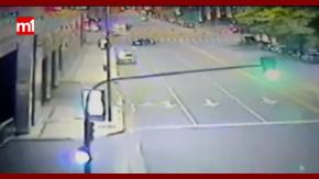 Un hombre alcoholizado colisionó contra el Hilton en Puerto Madero