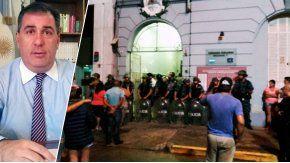 El fiscalNelson Mastorchio pidió la detención de los policías