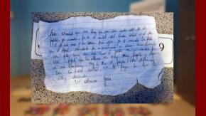La carta con la que un narco pide proviciones