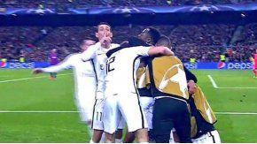 El gesto de Di María para callar al Camp Nou