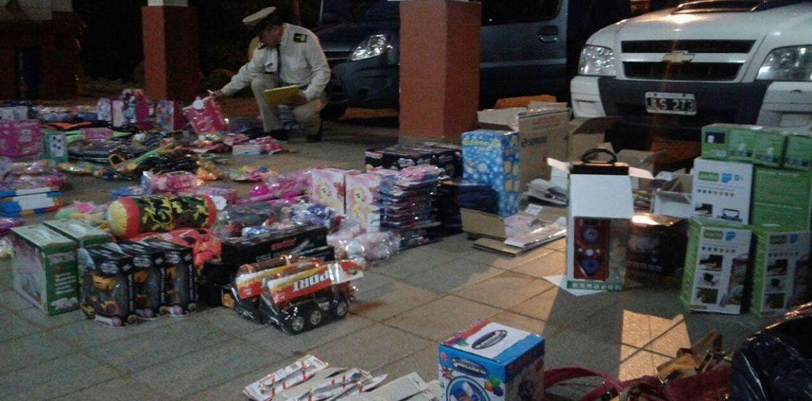 Gendarmería incautó mercadería de contrabando por $5 millones - Crédito: google.com.ar