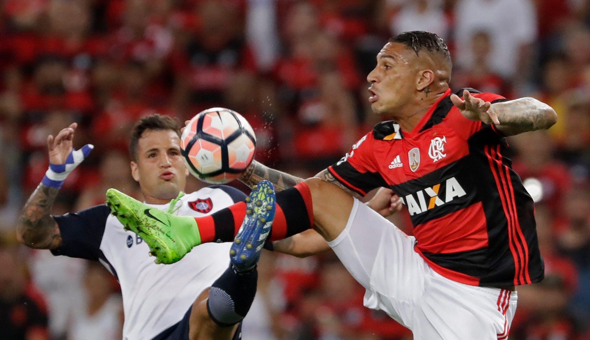 San Lorenzo visita a Flamengo