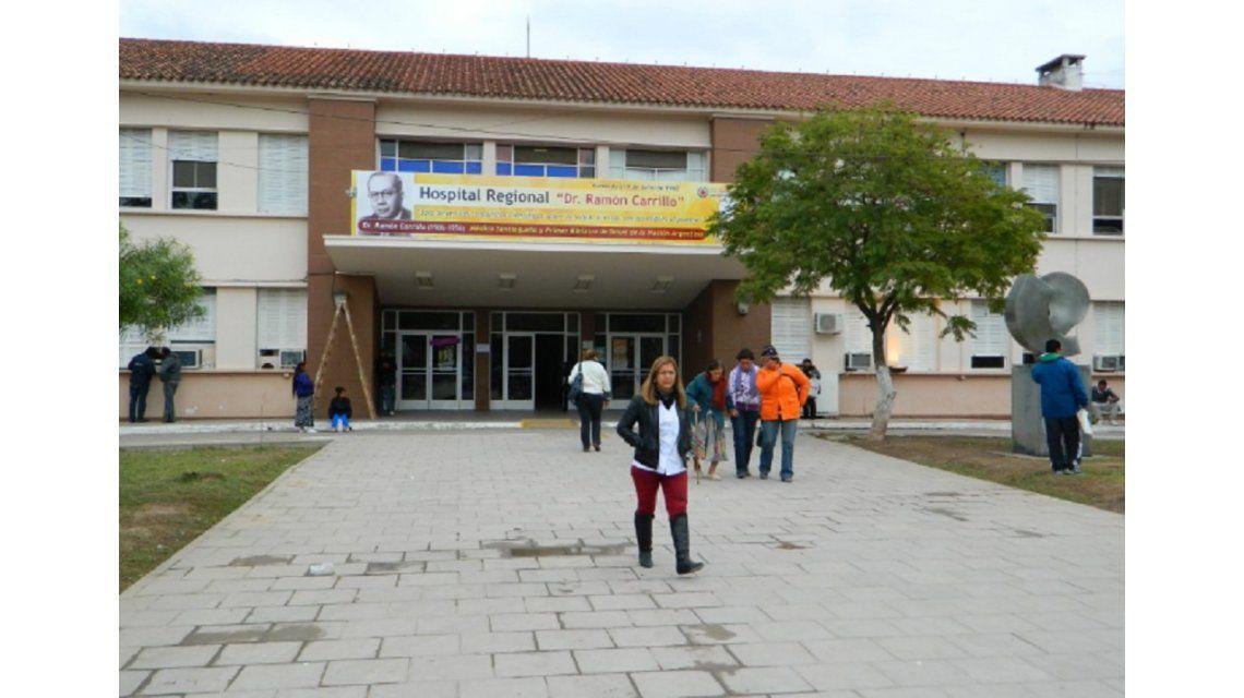 El hombre fue trasladado al Hospital Ramón Carrillo (foto: Google Maps)