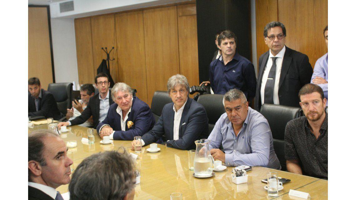 La reunión en el Ministerio de Trabajo