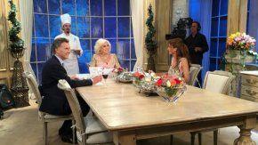 Mirtha Legrand cenará con Mauricio Macri y Juliana Awada