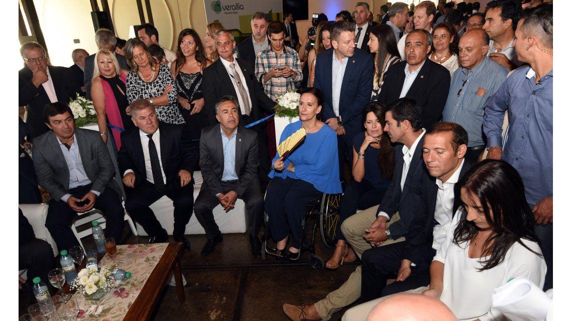 Gabriela Michetti en laVendimia