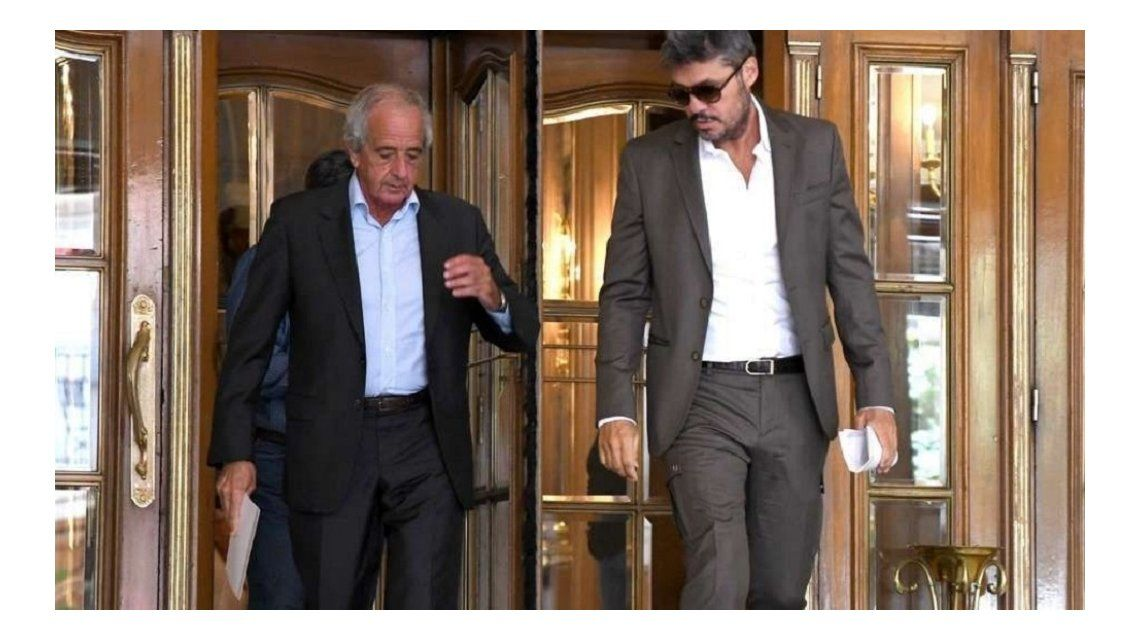 Tinelli y D´Onofrio