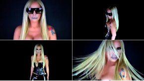 Silvia en el remix de  Paint it black