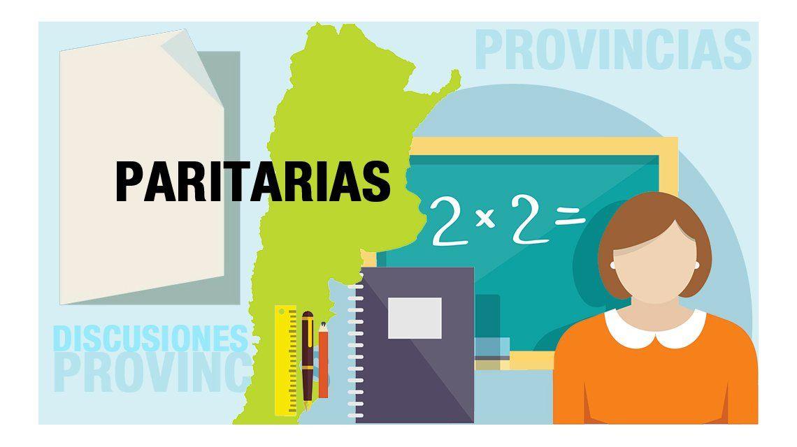 Provincia por provincia, qué le ofrecen a los docentes en la discusión paritaria