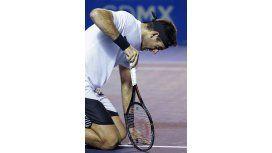 Del Potro dejó de ser el mejor tenista sudamericano en el ranking ATP