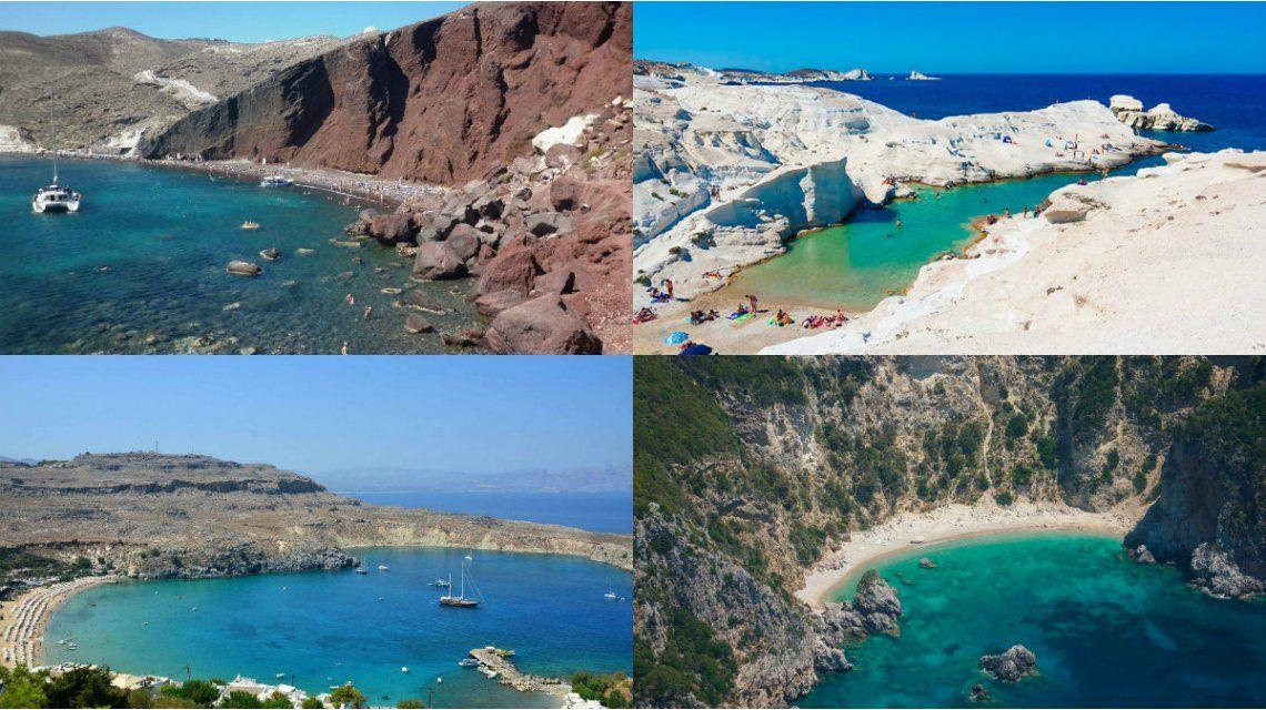 Grecia tiene una oferta infinita de playas paradisíacas
