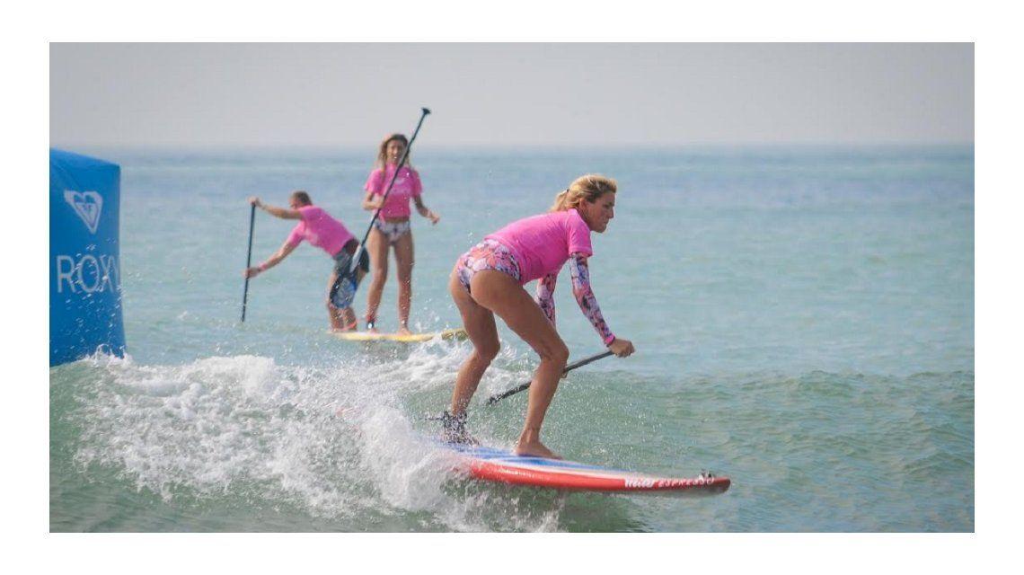 El sup (o stand up paddle) es quizás el deporte acuático de más auge. (Foto: Diego Yiorio)