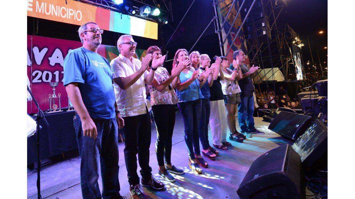 Tigre cerró su Carnaval del Río con un multitudinario festival