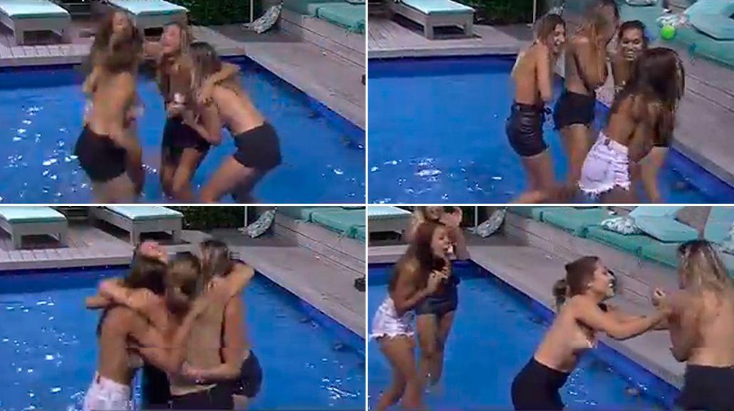 Topless en Despedida de solteros