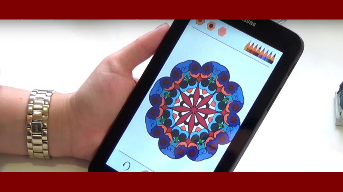 Aplicaciones gratuitas para colorear mandalas