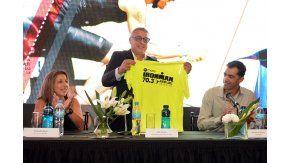 Julio Zamora presentó la segunda edición delIronManTigre 70.3