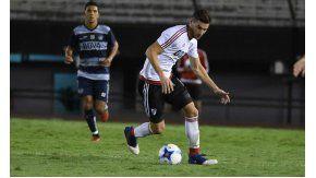 Lucas Alario volvió a hacer fútbol