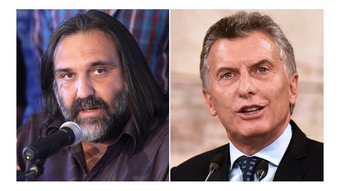 Roberto Baradel criticó a Mauricio Macri