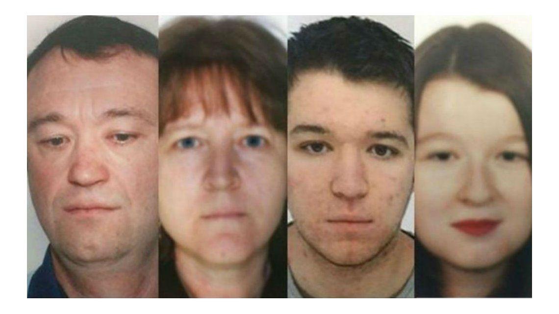 Esta es la familia que estaba desaparecida