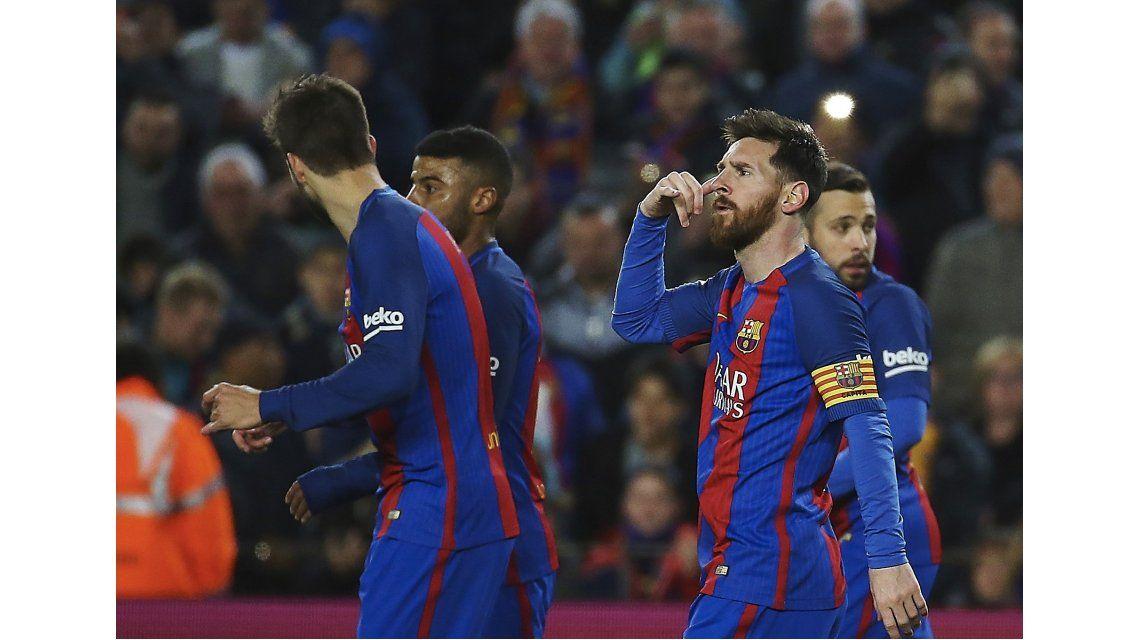 El polémico festejo de Lionel Messi del que todos hablan: ¿a quién se lo dedicó?