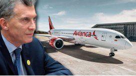 Marcha atrás: Macri suspendió la entrega de rutas aéreas a Avianca