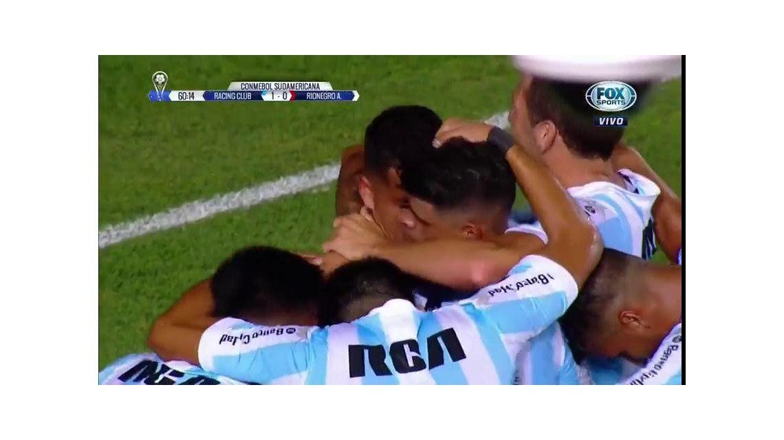 Racing 1 - Ríonegro Águilas 0