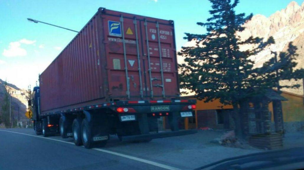 Este es el camión infractor