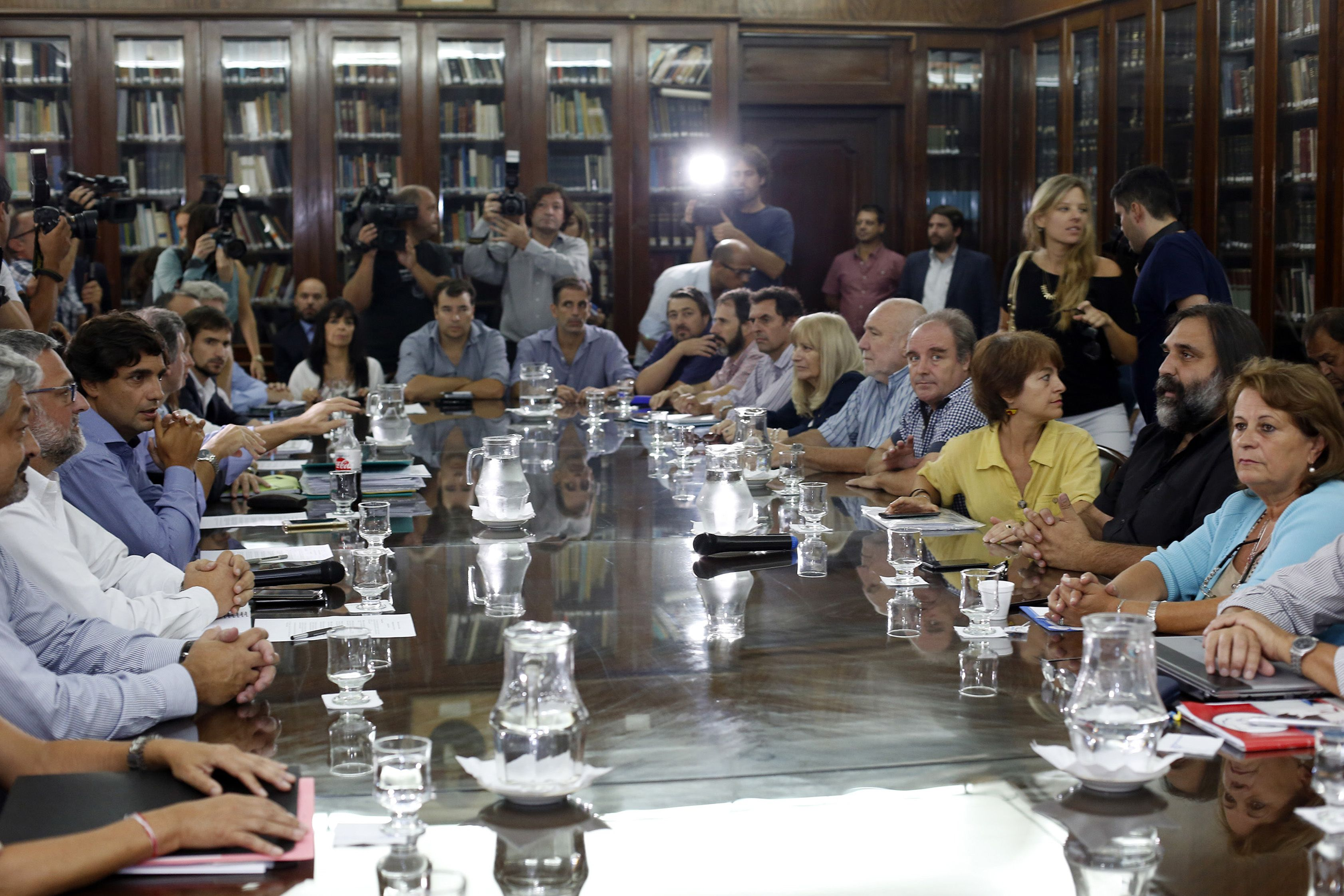 La reunión de paritaria docente