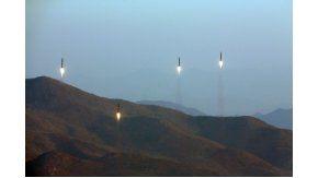 El lanzamiento de misiles
