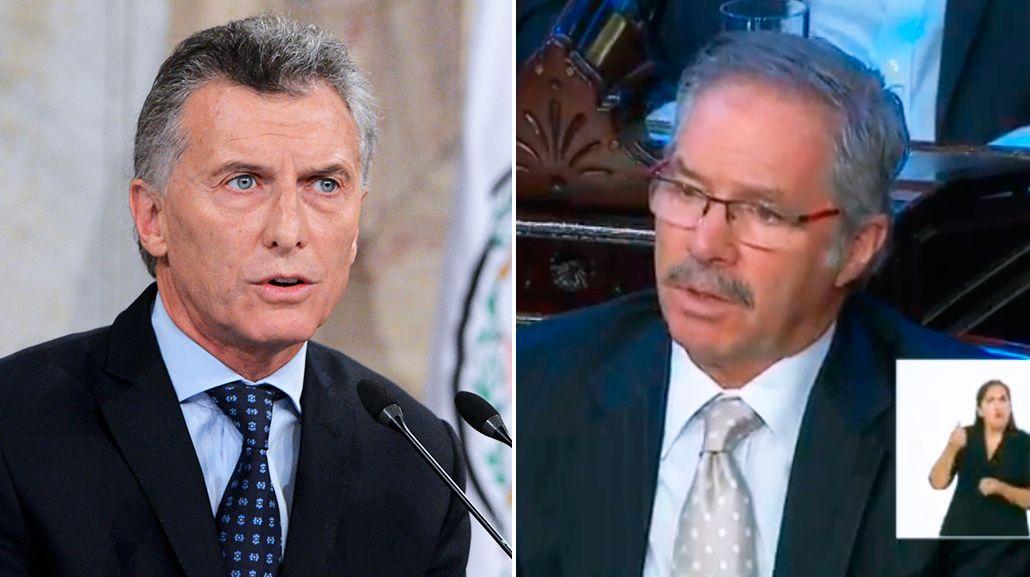 El irónico comentario de Solá en medio del discurso de Macri