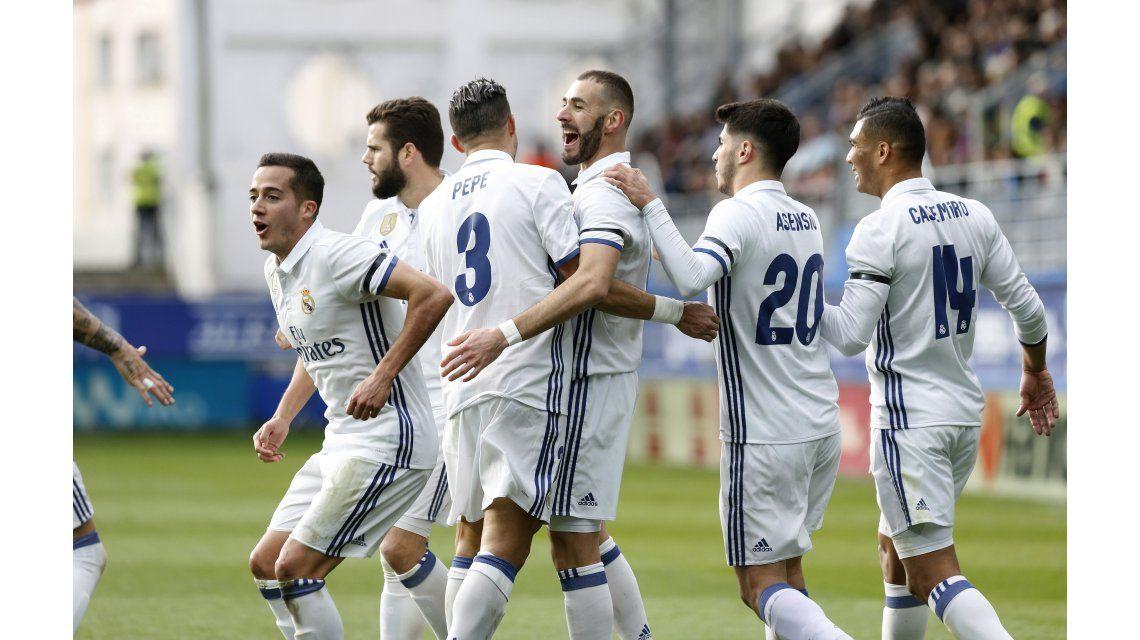 El festejo del Real Madrid