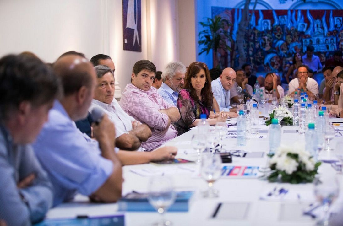 Cristina Kirchner se reunió con 50 empresarios
