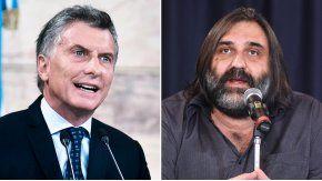 Macri minimizó las amenazas a Baradel