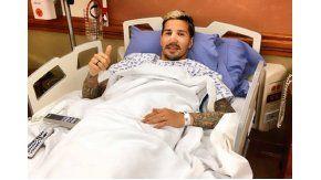 Fabbro ya fue operado con éxito y comenzará la recuperación