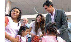 Urtubey dio inicio al ciclo lectivo 2017 con un acto en Misión La Paz