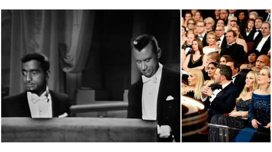 VIDEO: El papelón de los Oscar ya había pasado con un error en los sobres