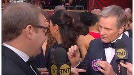 Mortensen llevo un descudo de San Lorenzo a los Oscar