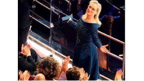 Meryl Streep, ovacionada